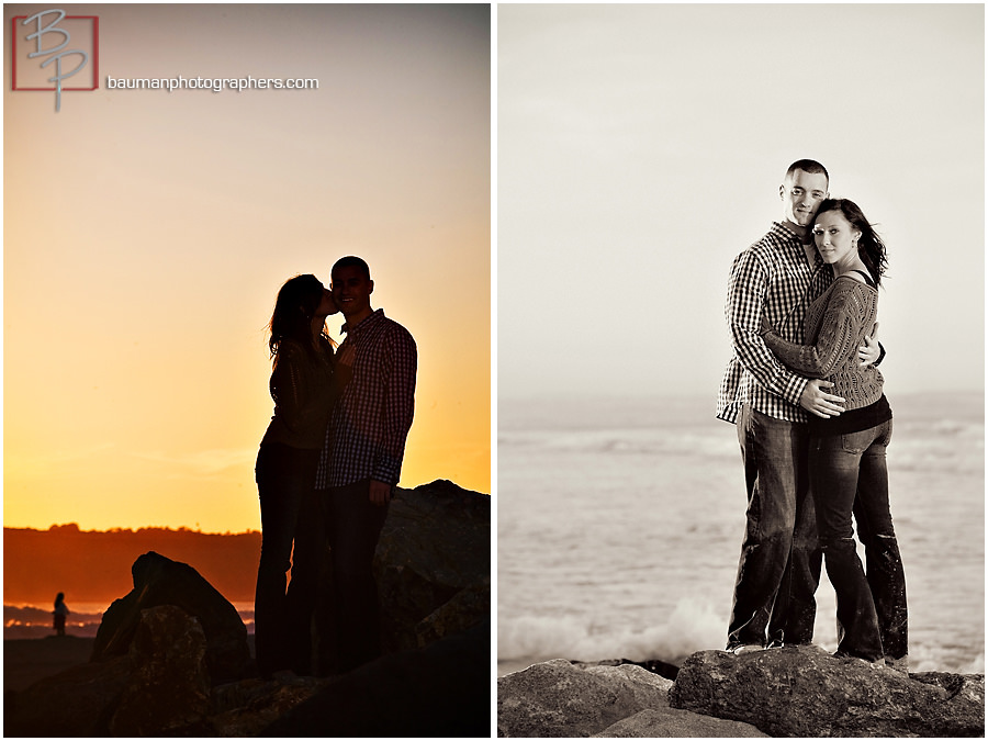 Coronado Beach engagement images
