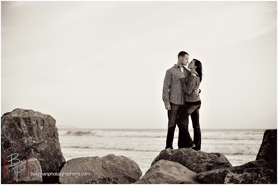 Engagement pictures by Bauman Photographers