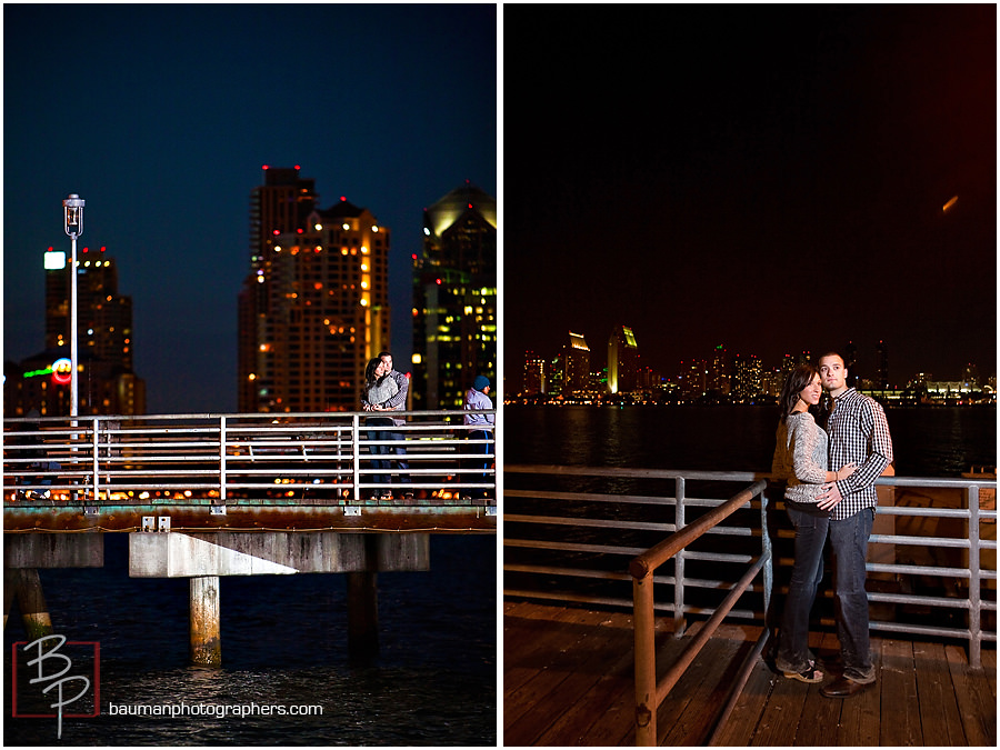 Engagement photos by Bauman Photographers at Coronado Beach