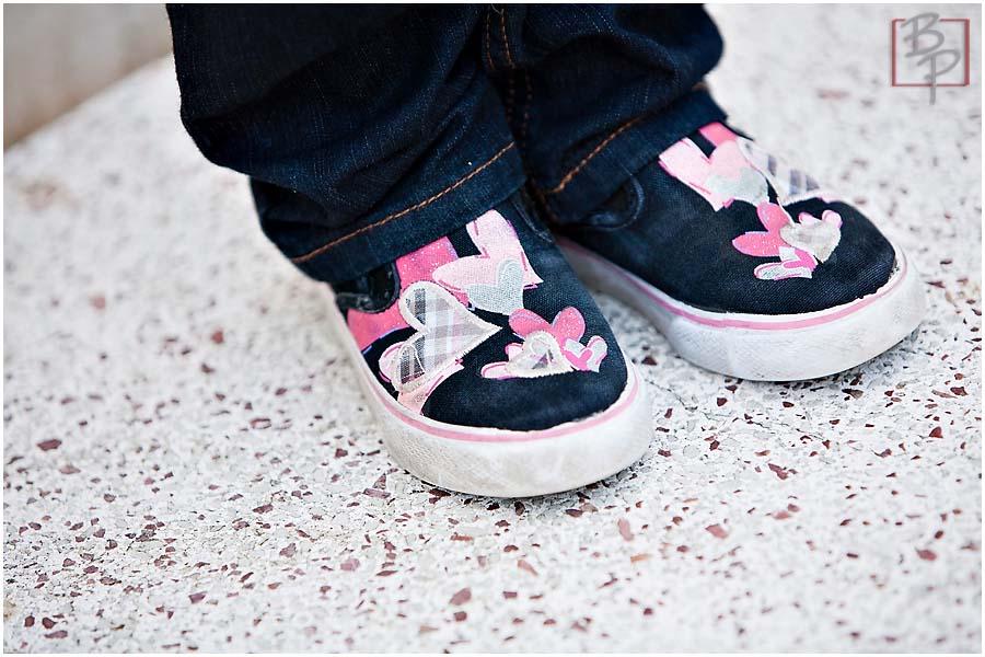 Balboa Park Family Portraits Shoes