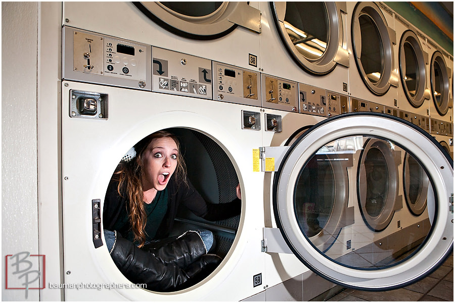 portraits in laundry
