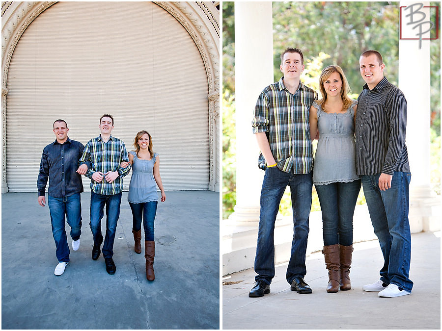 Balboa Park family photography session