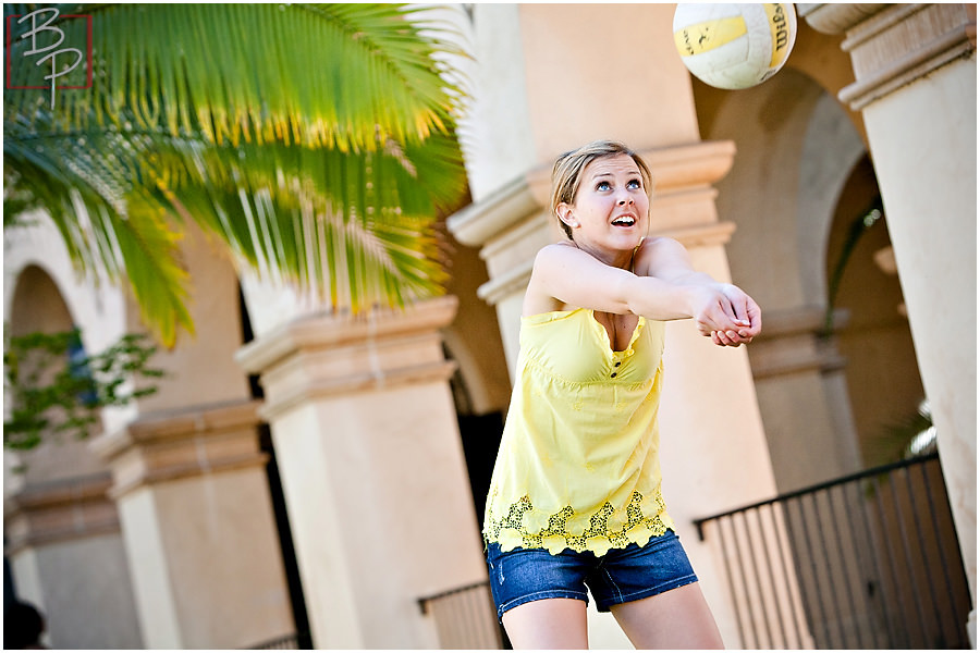 Volleyball photography in San Diego