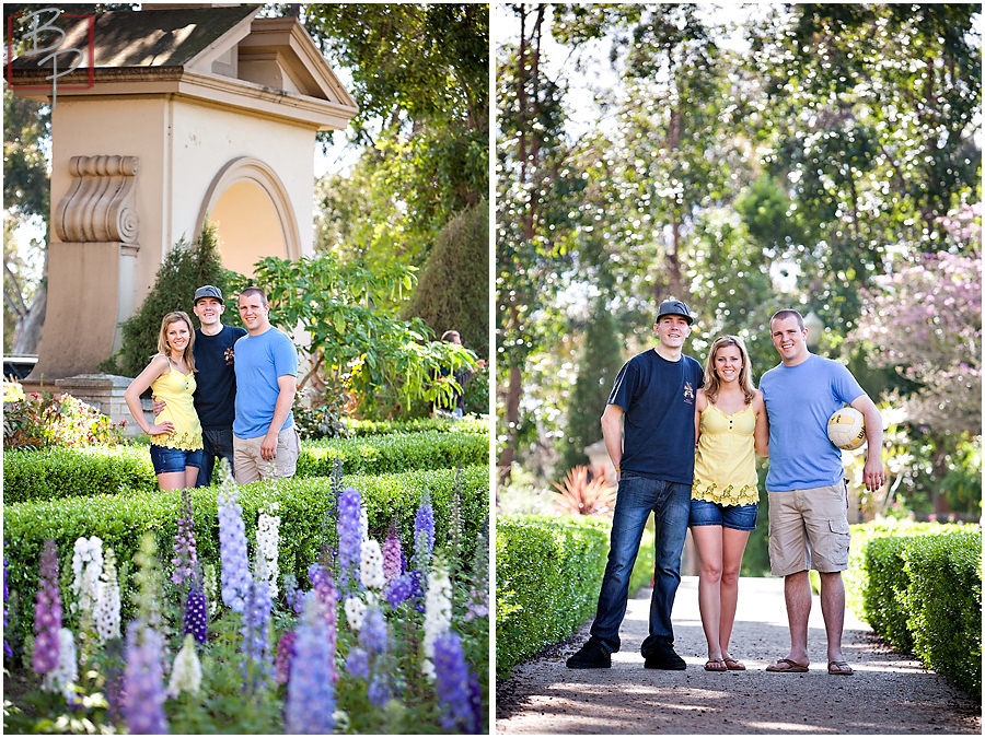 Family Portraiture in Balboa Park