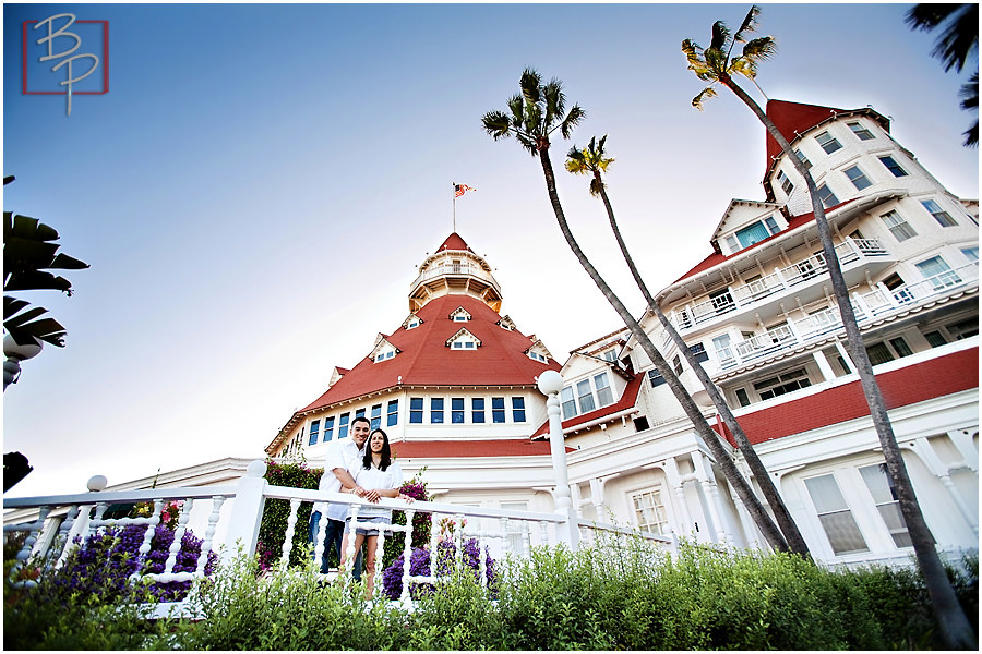 Hotel Del Coronado Portrait