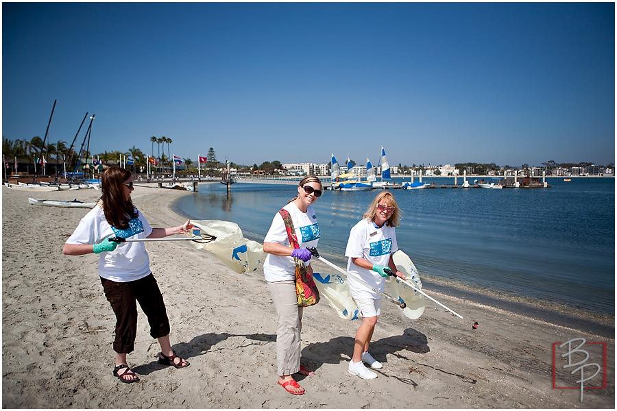 san diego beach cleanup