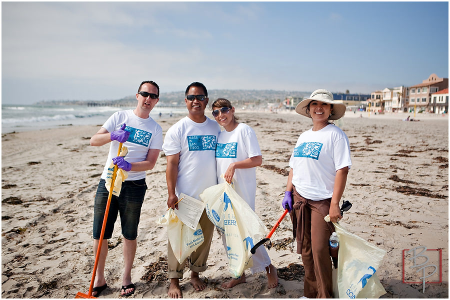 mission bay beach clean up