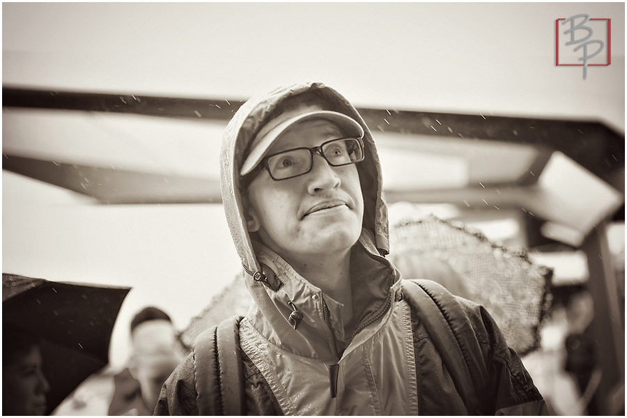 raining disneyland photography