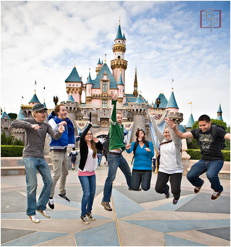 happiest place on earth castle photography