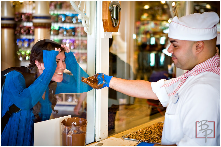 disneyland chocolate photography