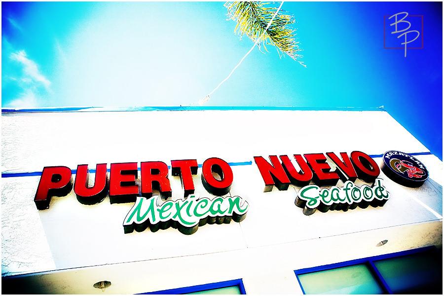 Puerto Nuevo Sign