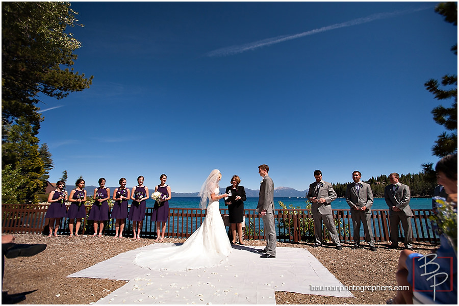 Rings Lake Front Wedding pictures