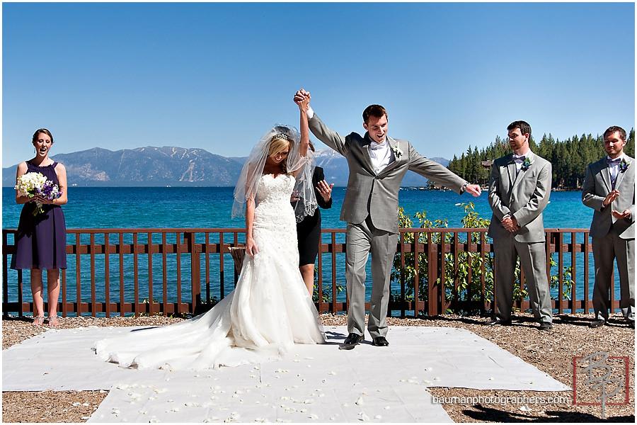 Lake Tahoe wedding pictures