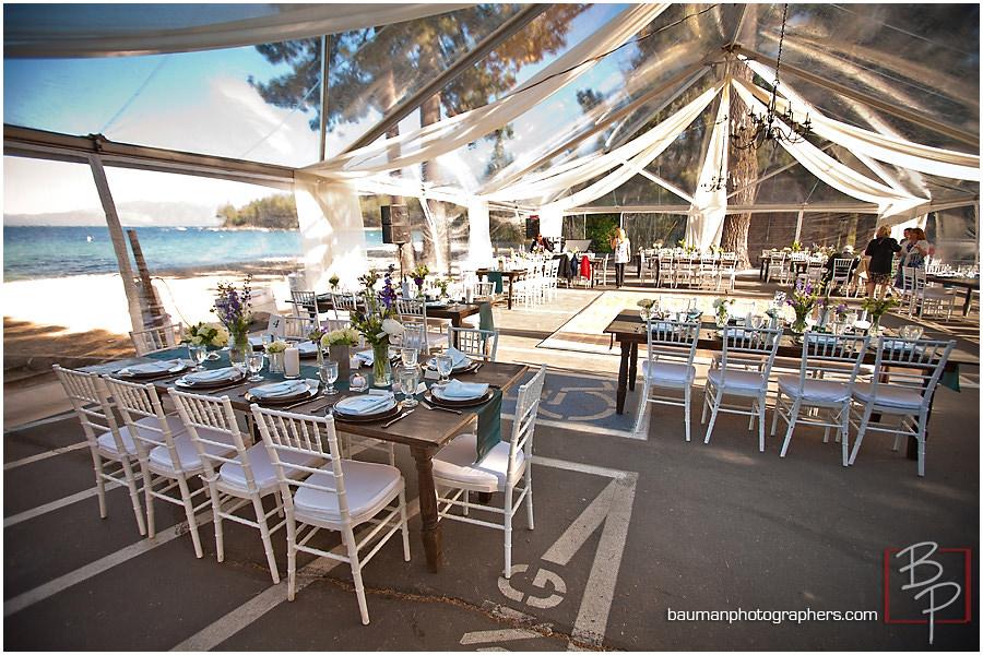 Kehlet Mansion wedding table set up