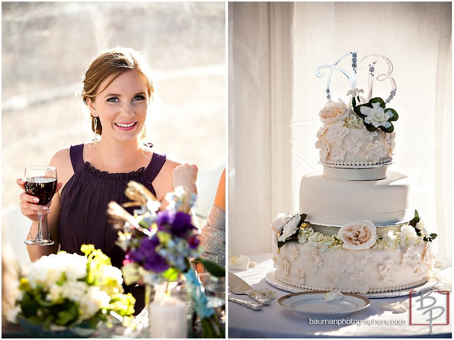beautiful wedding cake photo