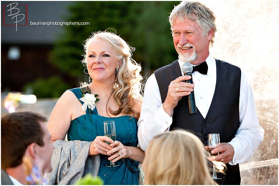 wedding toast image