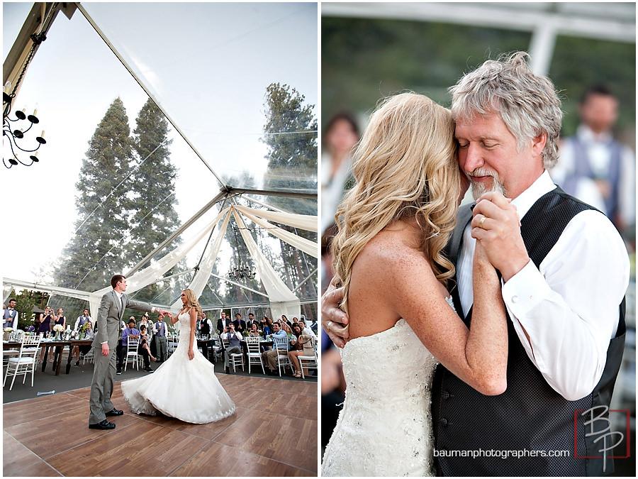 Meeks Bay wedding photo