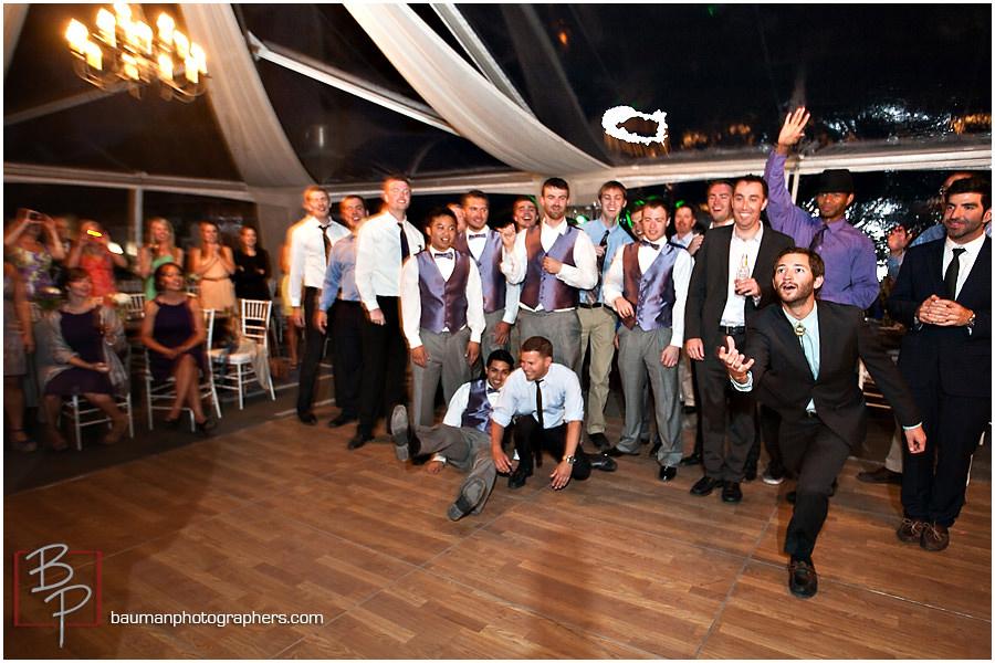 Garter Toss Fun group photo