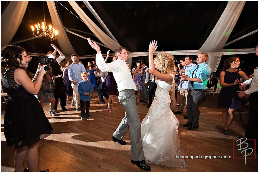 wedding dance candid bride and groom