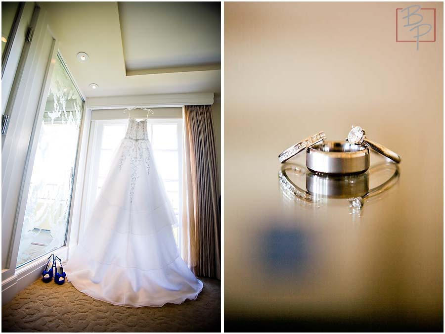 the ring and the dress