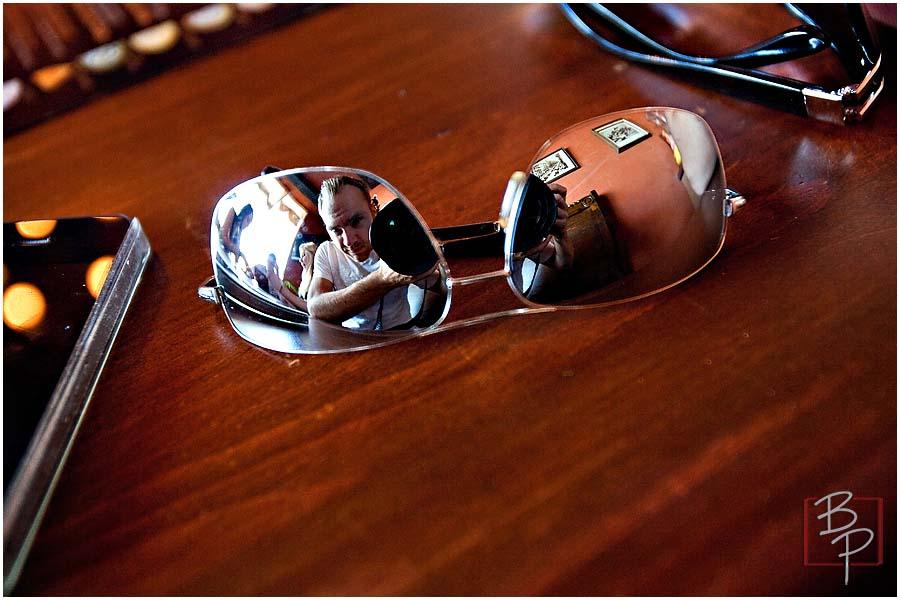 Sunglasses at Alfaron Restaurant in SDSU