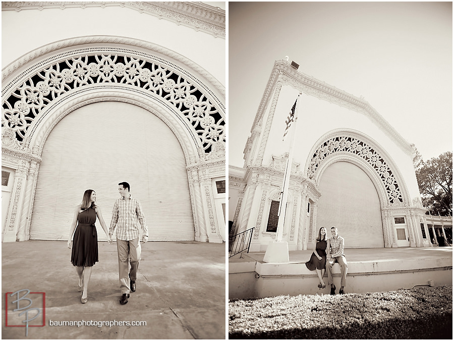Balboa Park Engagement photos