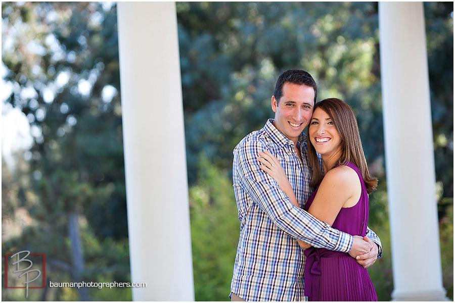 Engagement photos in Balboa Park