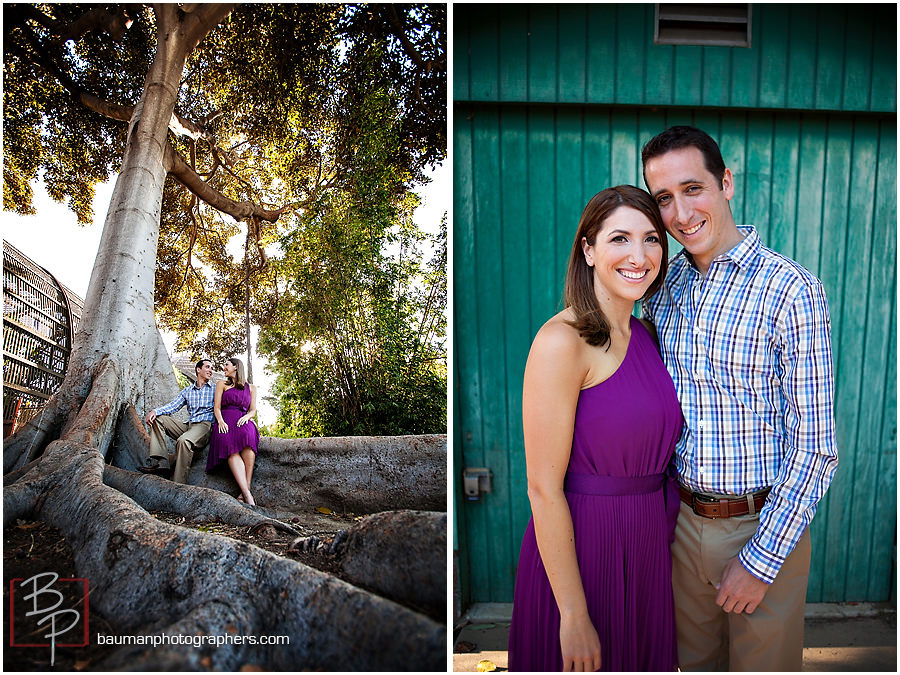 San Diego engagement photography in Balboa Park