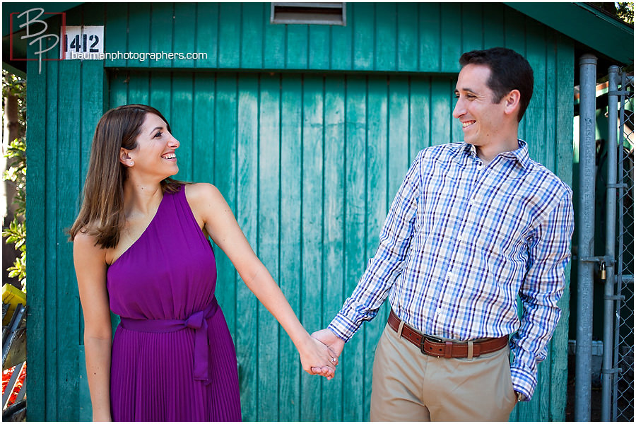 Engagement session in Balboa Park