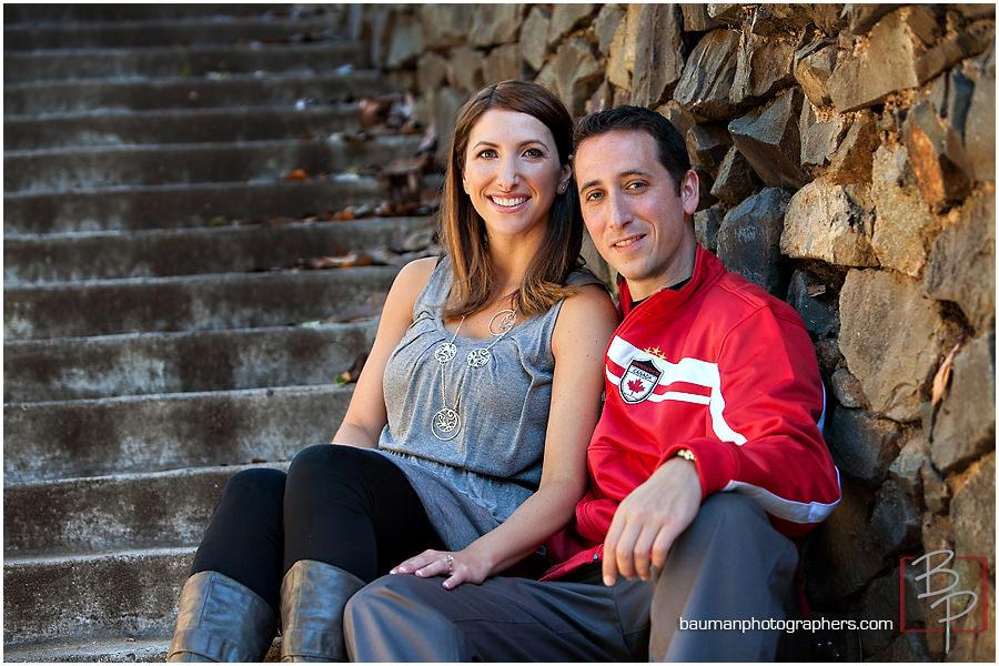 Balboa Park engagement shoot