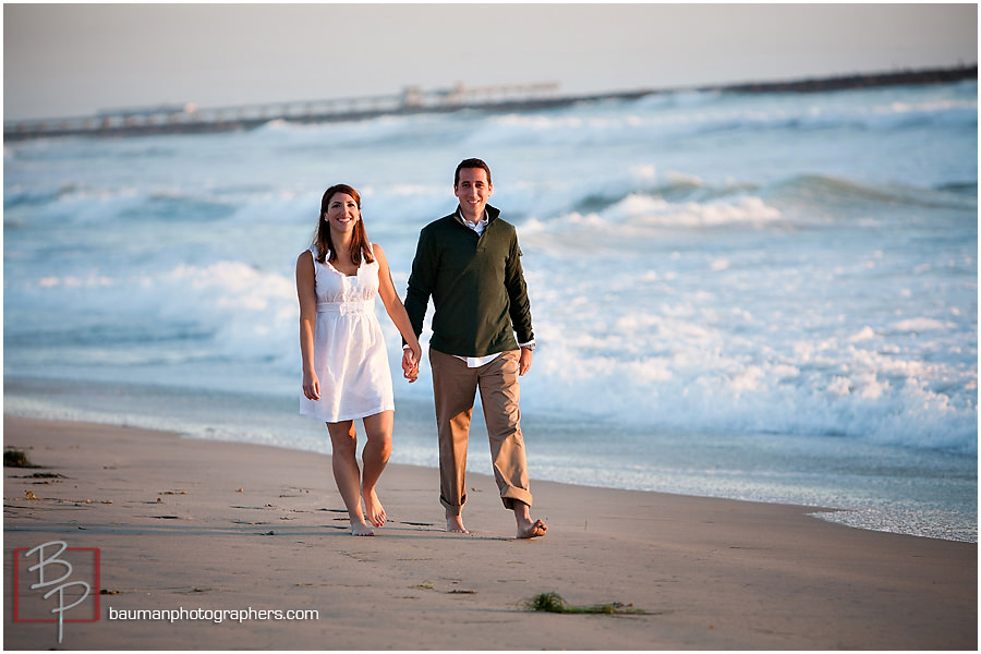 Mission Beach engagement shoot