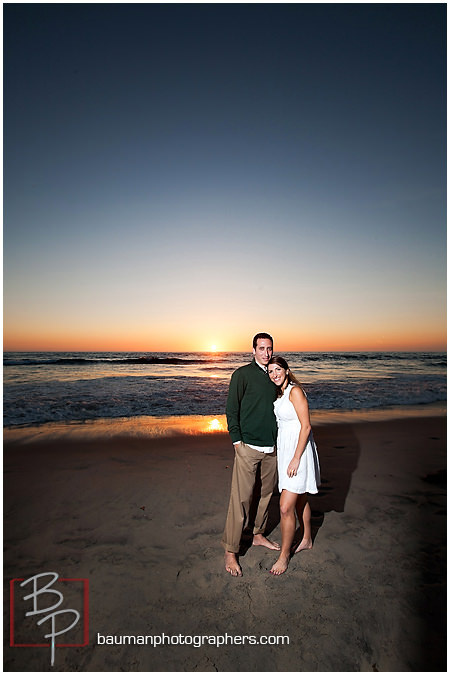 Mission Beach, San Diego engagement pictures