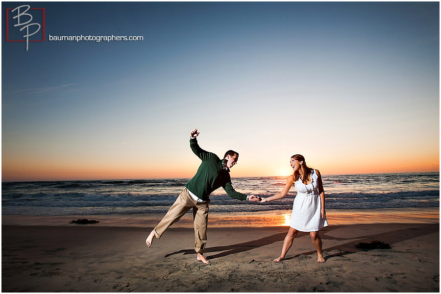 Engagement photography Mission Beach