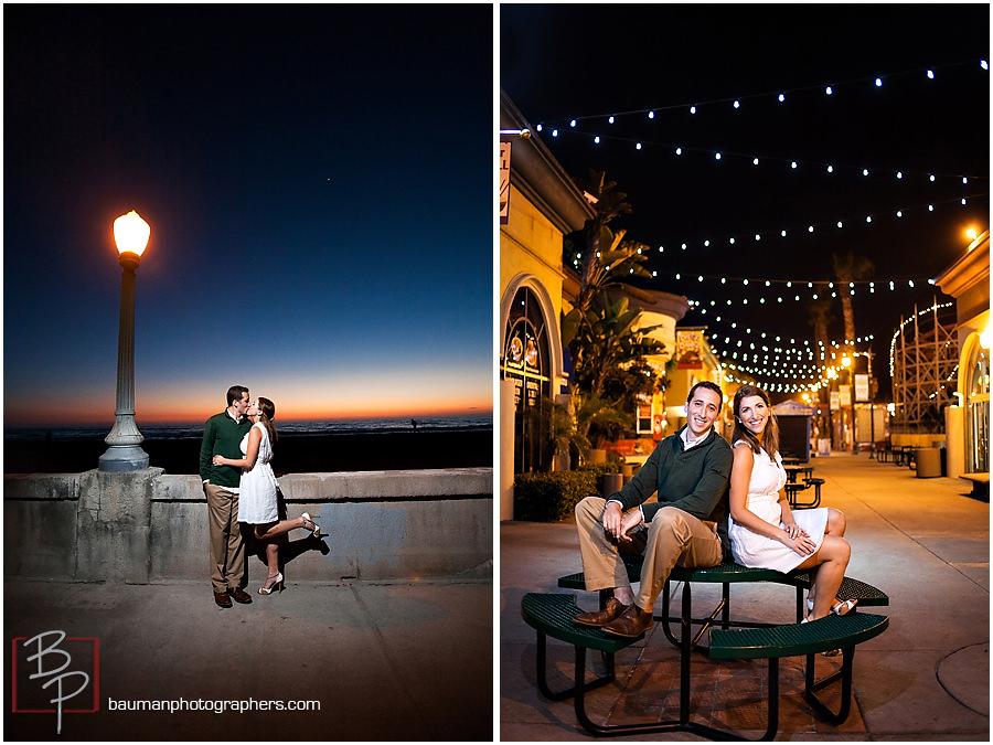 Bauman Photographers engagement pictures at Belmont Park