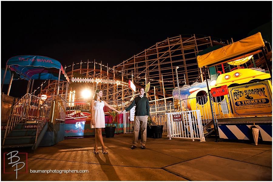 Engagement Photography at Belmont Park