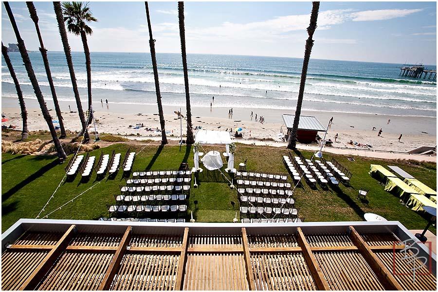 la jolla beach ceremony