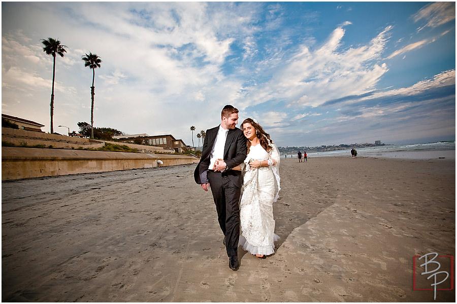 La Jolla Beach Wedding Photos