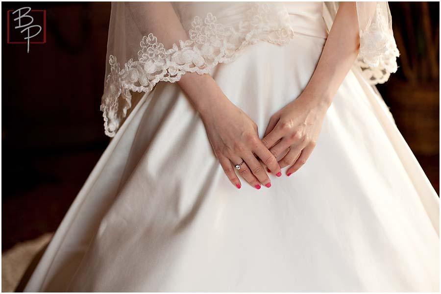 Bride photographs in San Diego