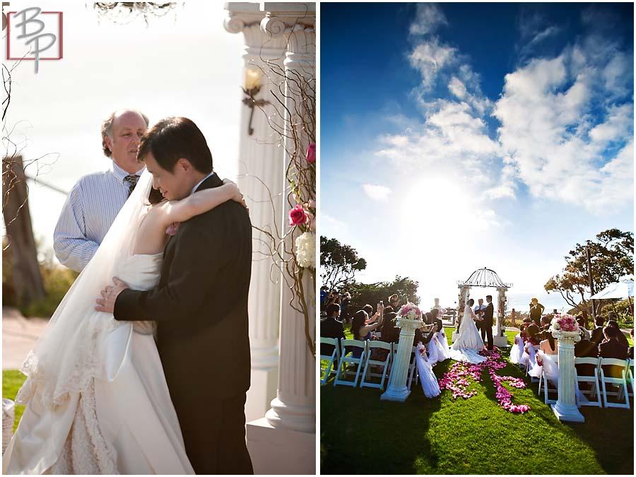 La Valencia Hotel wedding photography in San Diego