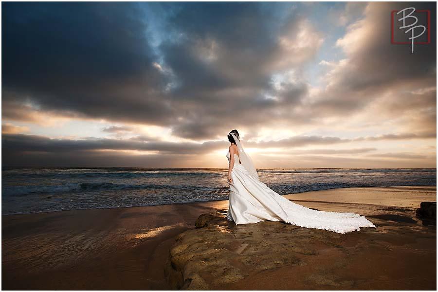 San Diego sunset wedding photographs