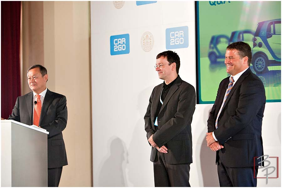 Keynote Speakers at CAR2GO Event in Downtown San Diego