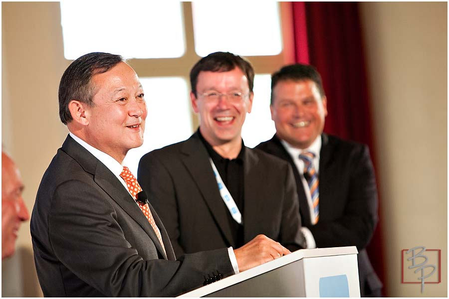 Keynote Speakers at CAR2GO Event at Hotel El Cortez in Downtown San Diego