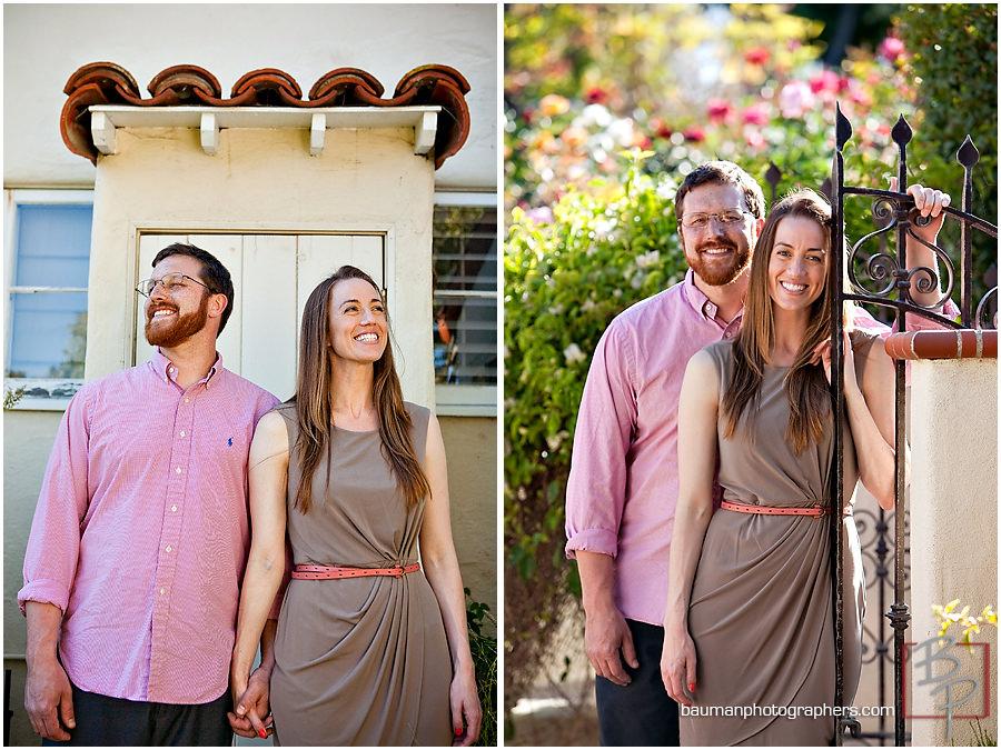Engagement session, Inn at Rancho Santa Fe