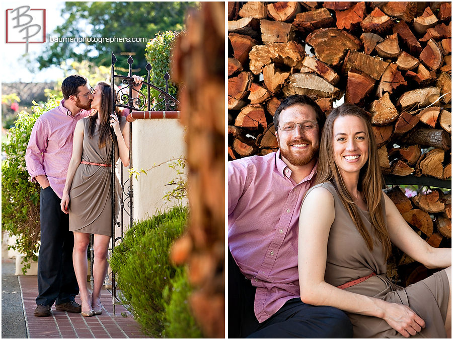 Engagement Session by Bauman Photographers, San Diego, CA