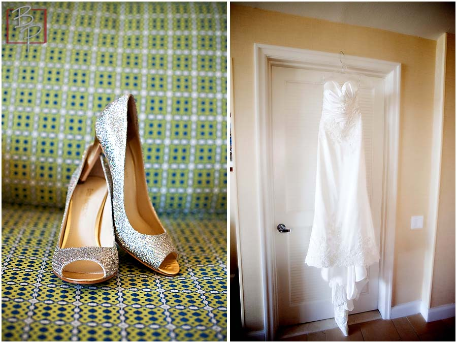 San Diego Wedding Dress and Shoes Photography