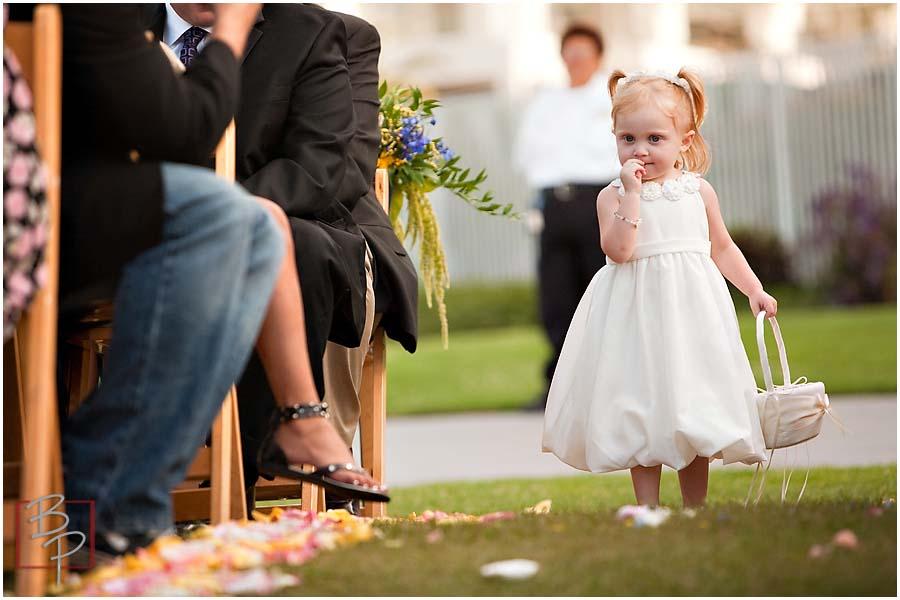 Wedding Photography Flower Girl Outdoor