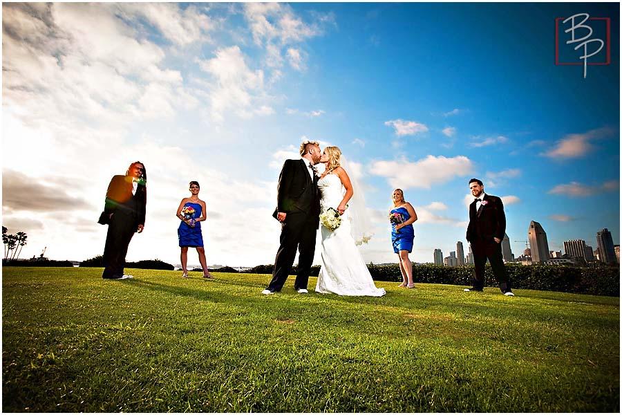 Wedding Party Photography Outdoor Coronado