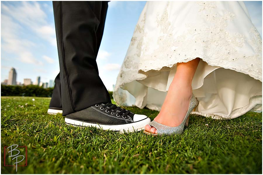 Wedding Shoes Photography Outdoor
