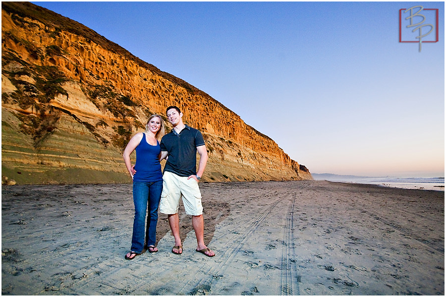 Torrey Pines Wedding Engagement photography