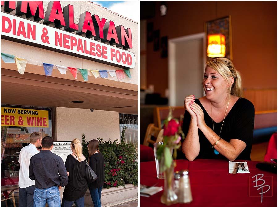 Himalayan Cuisine Entrance at La Mesa in San Diego